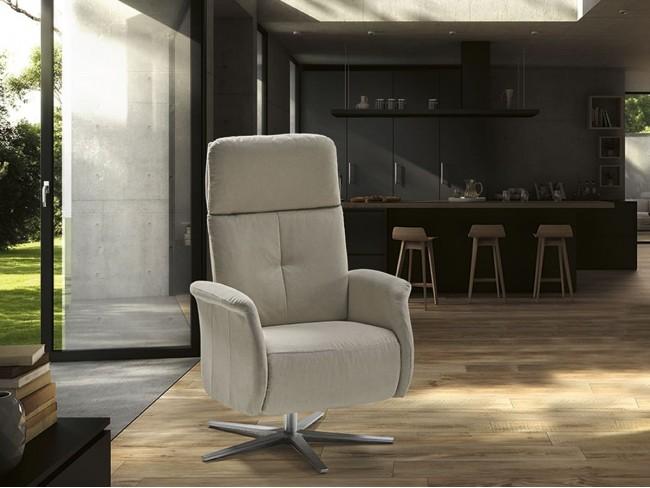 Sillón relax eléctrico giratorio modelo Kely