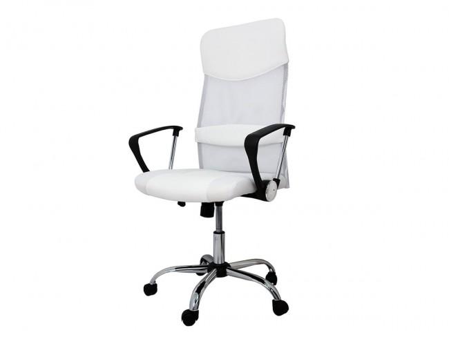 Silla oficina modelo Dafne blanca