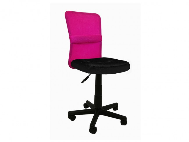Silla estudio modelo Alba rosa