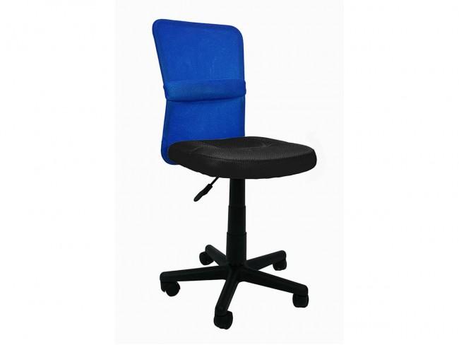 Silla estudio modelo Alba azul