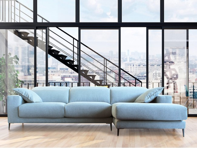 Sofá chaise longue modelo Niobe