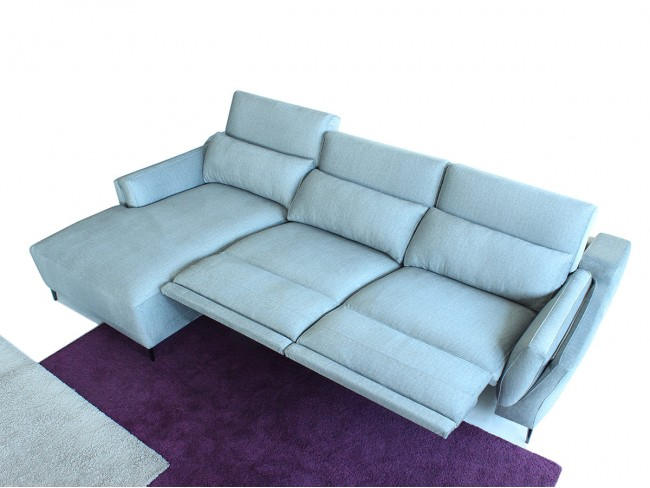 Sofá chaise longue modelo Fenix DE