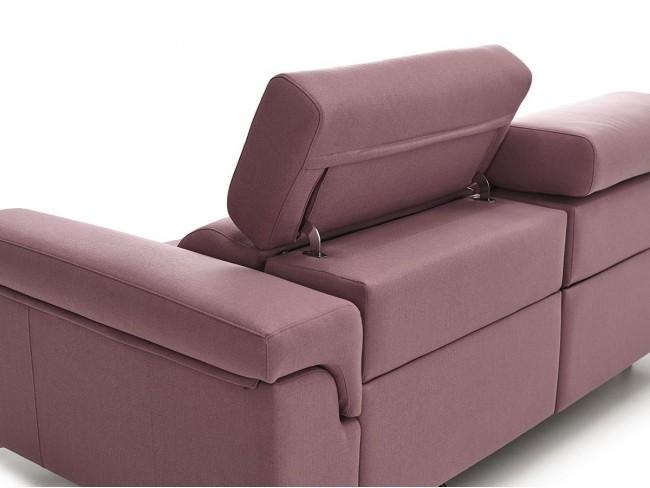 Sofá chaise longue modelo Descansa DE