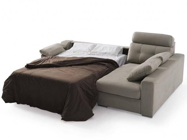 Sofá chaise longue cama italiano modelo Nerea DE