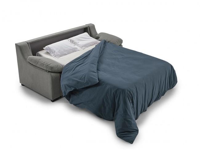 Sofá cama italiano modelo Triana abierto