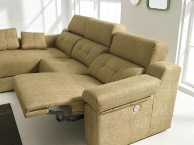 Sofá chaise longue relax eléctrico modelo Velero DE