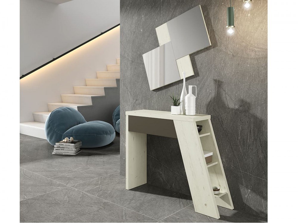 Mueble Recibidor con espejo modelo Concept CD