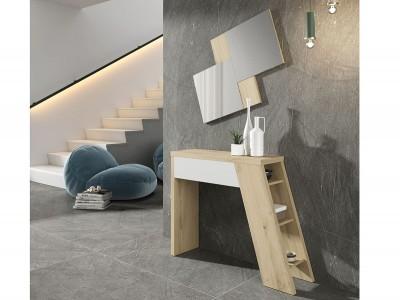 Mueble Recibidor con espejo modelo Concept PQ