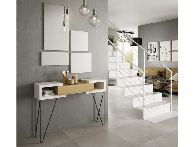 Mueble Recibidor con espejo modelo Concept 40PQ