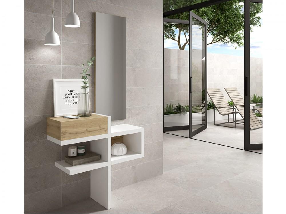 Mueble Recibidor con espejo modelo Concept 100PQ