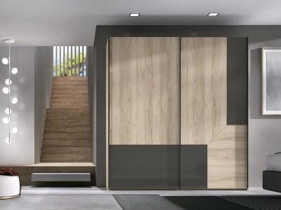 Armario 2 puertas correderas Icon modelo Cosmo
