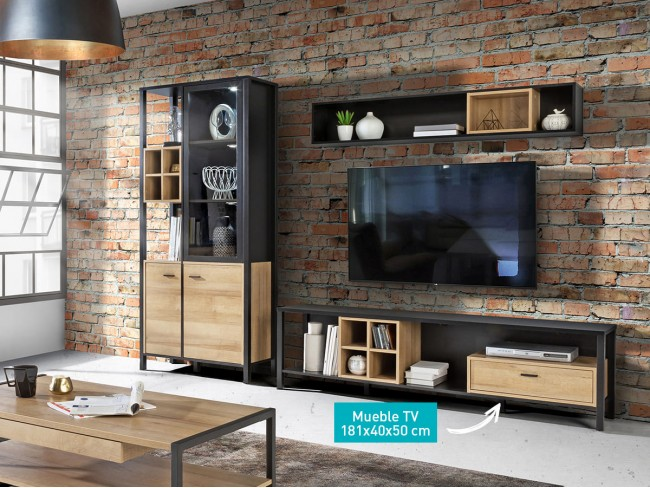 Mueble TV 181 cm modelo High Rock CO