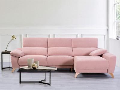 Sofá chaise longue con arcón de 273 cm