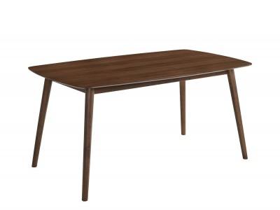 Mesa de comedor de 150x90 cm nogal