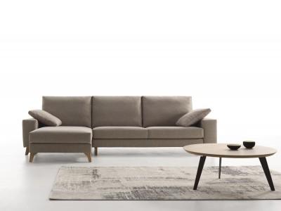 Sofá chaise longue de 290 cm