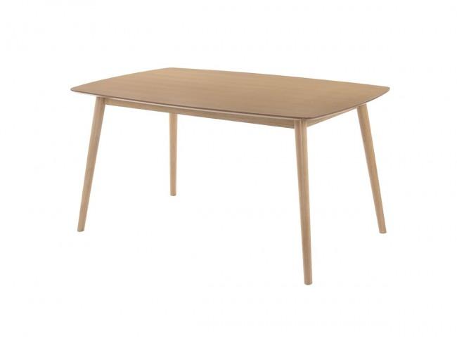 Mesa de comedor de 150x90 cm roble