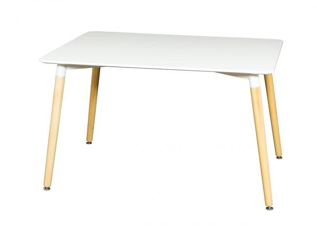 Mesa comedor de 120x80 cm blanco