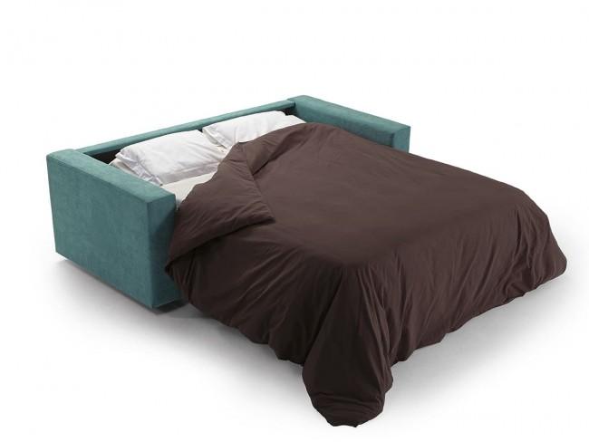 Sofá cama italiano modelo Goya abierto