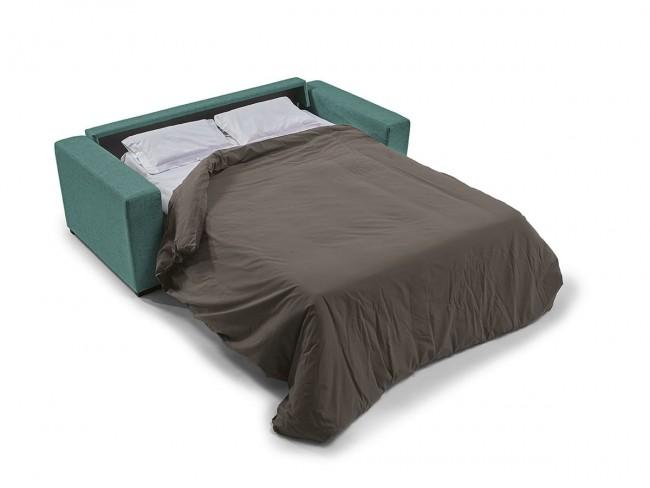 Sofá cama italiano modelo Karina abierto