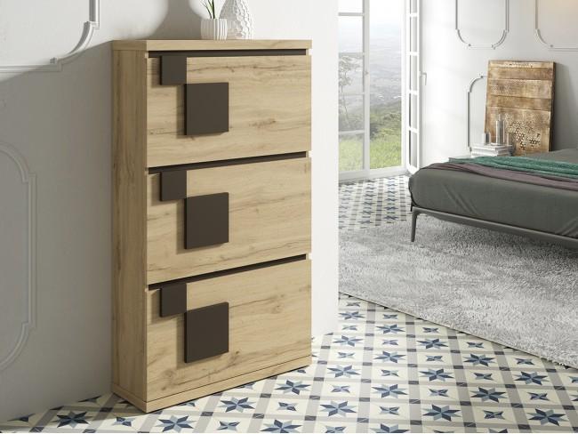 Mueble zapatero modelo On Concept Design 3p quebec
