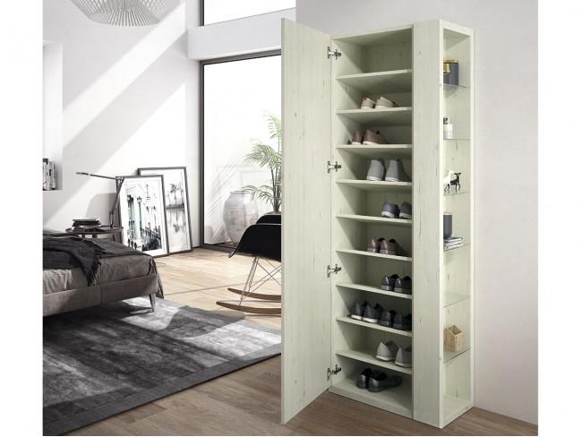 Mueble zapatero modelo On Concept Design 1p clea abierto