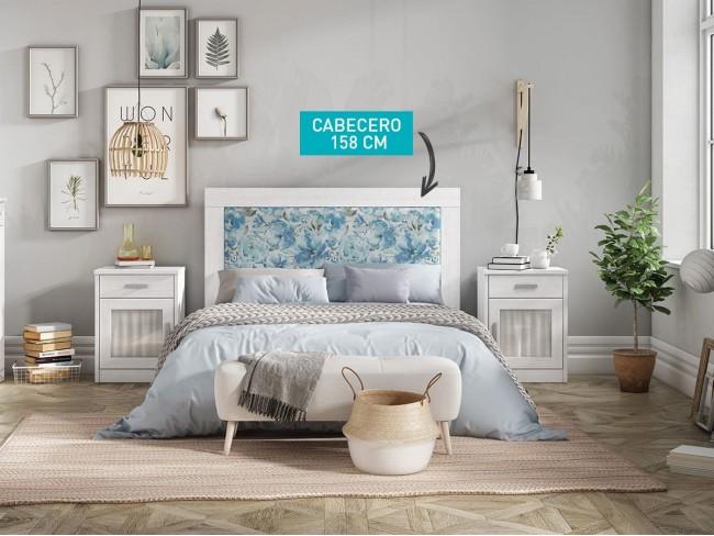 Cabecero tapizado modelo Coral