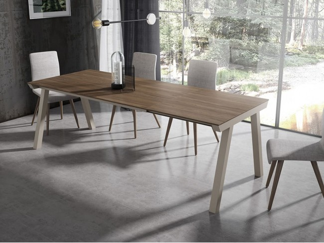 Mesa comedor extensible Totem modelo One NH