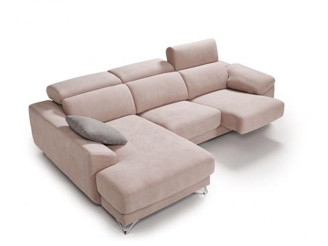 Sofá chaise longue canapé modelo Doroty solo