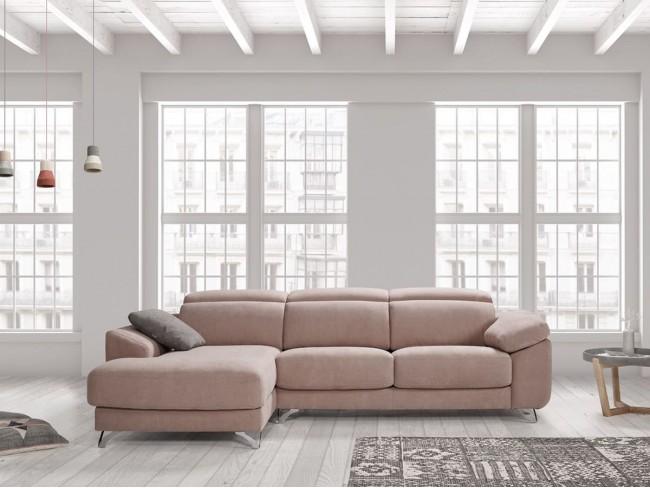 Sofá chaise longue canapé modelo Doroty