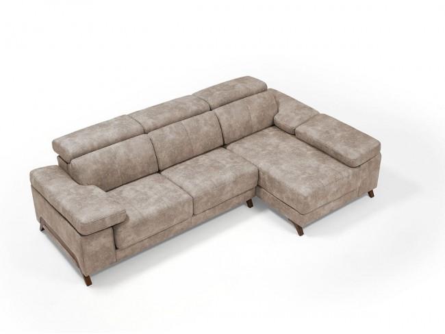 Sofá chaise longue modelo Kati