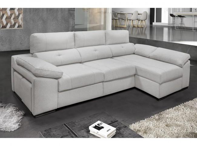 Sofá chaise longue modelo Enzo
