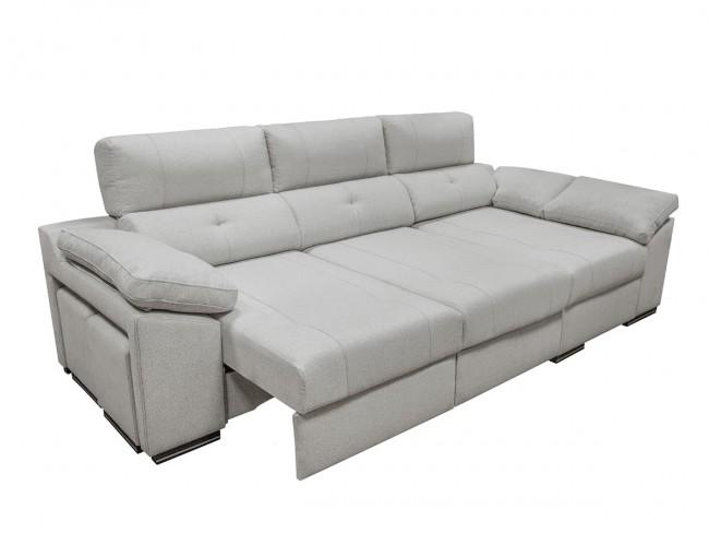 Sofá chaise longue modelo Enzo detalle