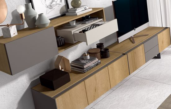 Muebles de salón que marcan estilo. ¿Con cuál te quedas?