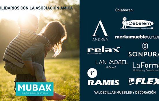 Mubak, mucho más que muebles: Donación a la Fundación Amica