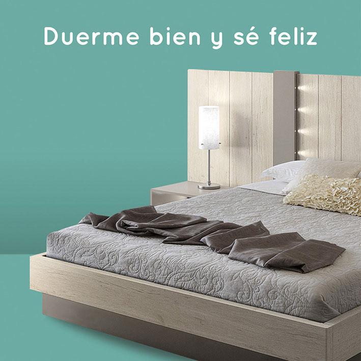 Duerme bien y se feliz