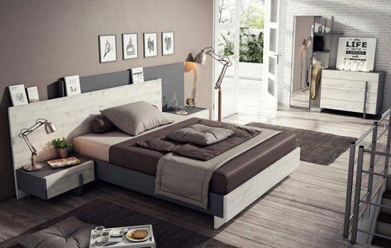 Muebles de dormitorio: a dormir que son dos días
