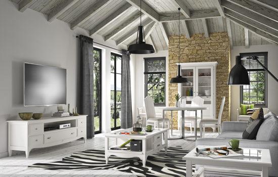 Muebles para el salón con mucho encanto. Despierta tus sentidos.