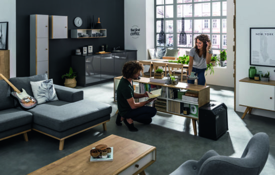 Muebles nórdicos para el salón: el equilibrio manda